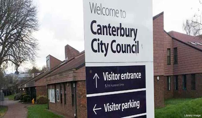 Canterbury City Council issue enforcement notice to remove 37 caravans from site in Fordwich