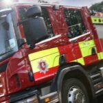 Suspected arson in Cressfield Ashford