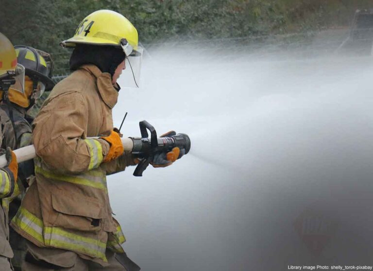 Fire crews tackle hot tub blaze in Broadstairs garden