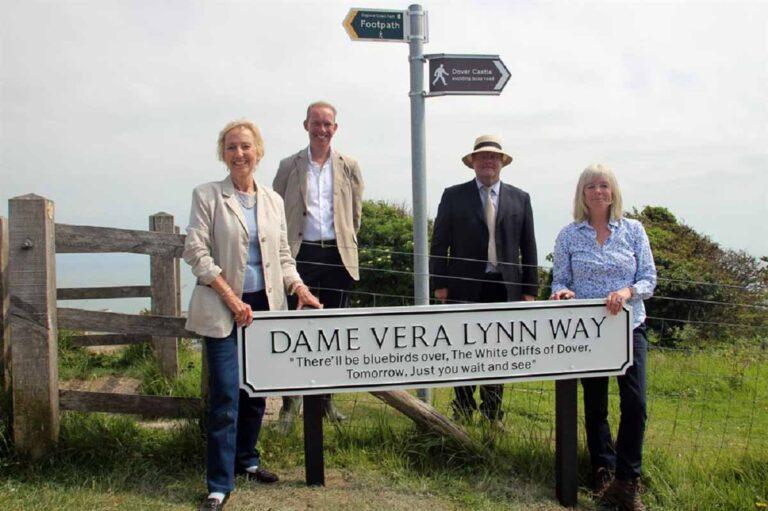 Dover landmarks renamed in memory of Dame Vera Lynn