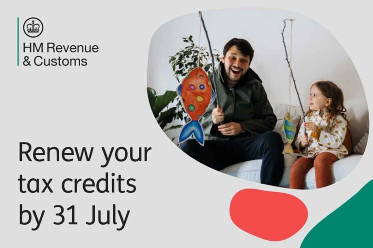 One week left to renew for 300,000 tax credits customers