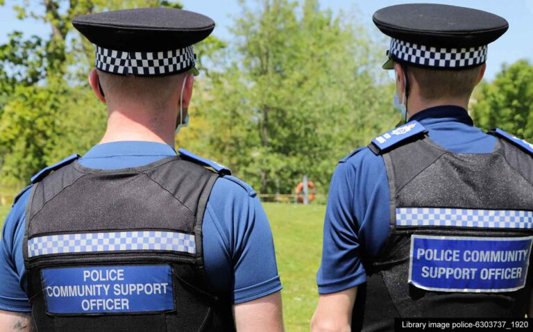 Patrols stepped up following 'catapult' damage in rural Kent town