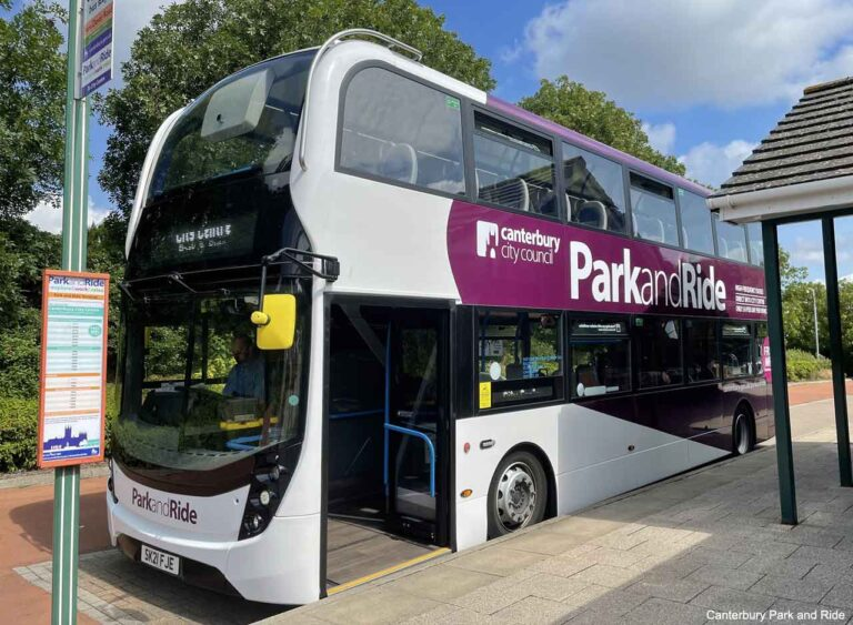 Canterbury Park and Ride to resume from Sturry Road