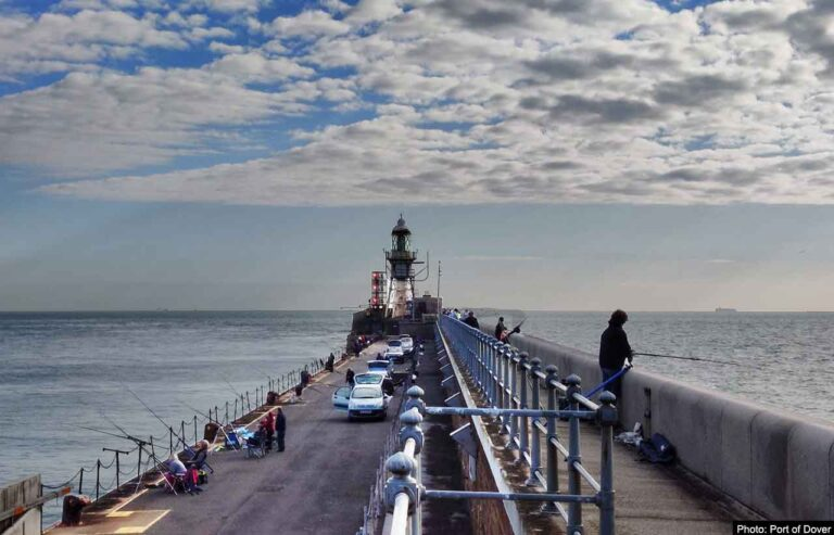 Dover fishing trial attracts scores of anglers at Admiralty Pier