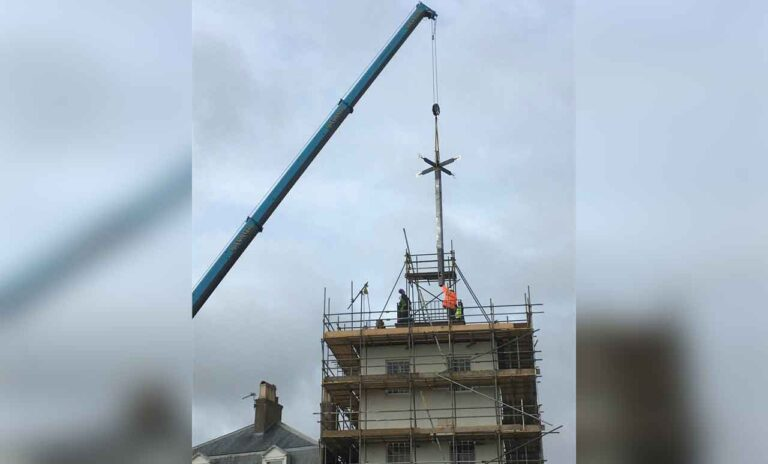 Time for renovation at Deal Timeball Tower